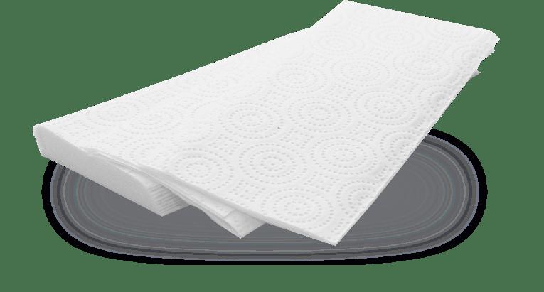 Folded Hand Towels
